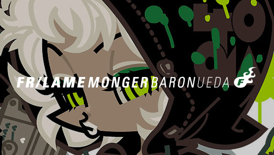 FR/LAME MONGER BARON UEDA -上田バロン-